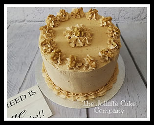 Coffee & Walnut Dessert Layer cake