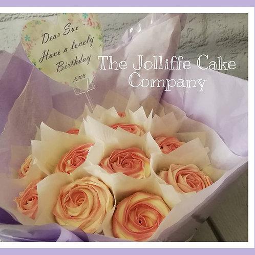 12 CUP Classic Cupcake Bouquet