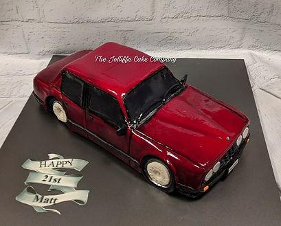BMW e30 car cake