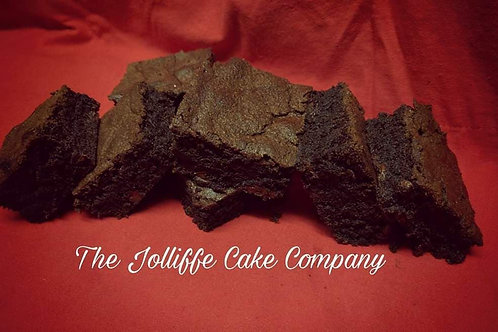 Free From Gluten- Classic Chocolate Brownies-Letterbox Bakes