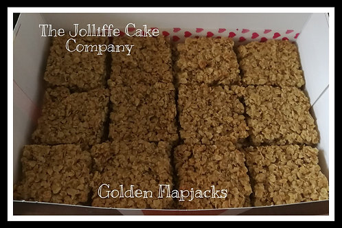 Golden Flapjacks-Letterbox Bakes