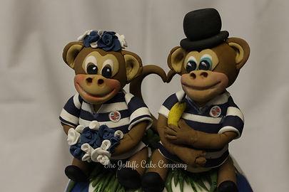 Wedding Cake toppers, Reading FC, Monkey