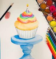 RAINBOW CUPCAKE VIRIDIAN ART.jpg