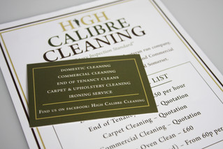 High Calibre Cleaning