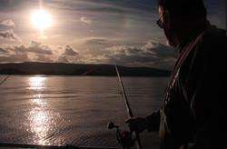 Keith Wigglesworth as the sun goes down