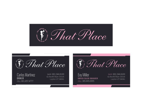 That Place Salon Branding