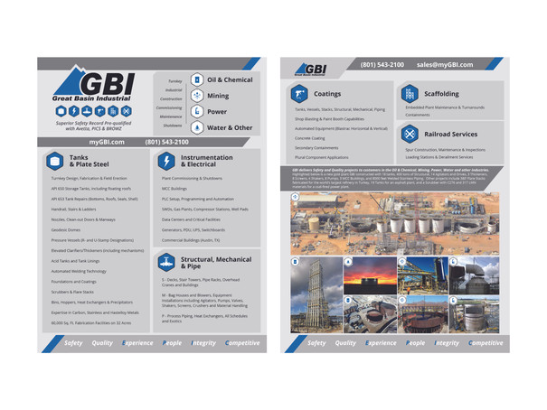 Great Basin Industrial Flyer