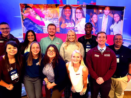 Student Government members attend National ASGA conference.