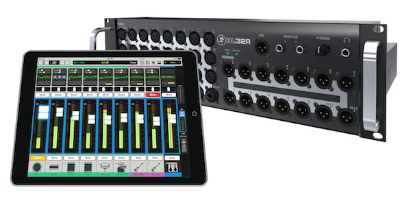 Mackie DL32R W/ iPad