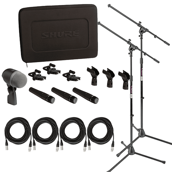 Band Microphone Package (Stands & Cables Included)