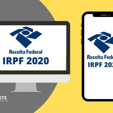 Imposto de Renda 2020. Saiba como declarar seu IRPF