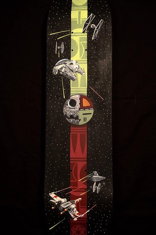 Loma qatsi pu Nukus qatsi (Good Life and Dark Life) Hand Painted Deck