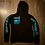 Thumbnail: Black and Turquoise Hoodie