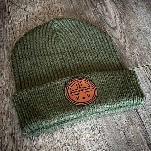 Tawa Knit Beanie - Green