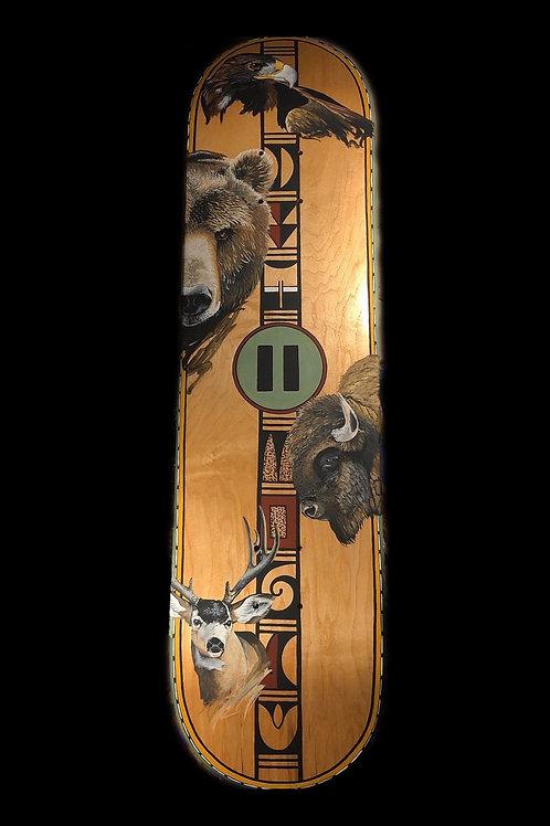 Hoohongvit (Strength) Hand Painted Deck