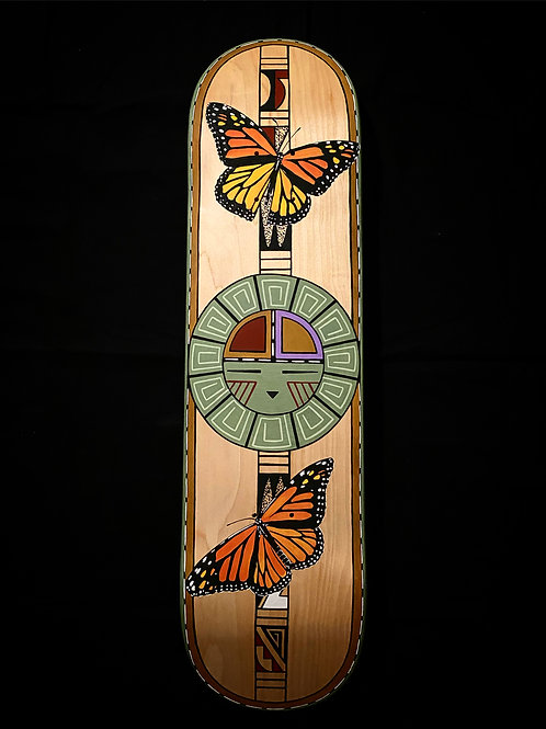 Poovolt tawat amum tiiva (Butterflies Dancing with Sun) Hand Painted Deck