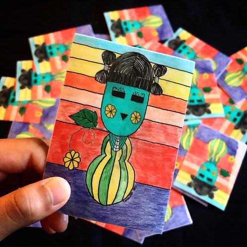 Paatung mana - Squash girl (Daughter's Sticker)