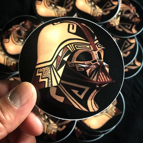 Hopi Vader Angled Sticker