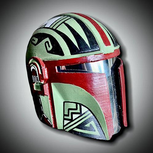 3D Printed Miniature Helmet