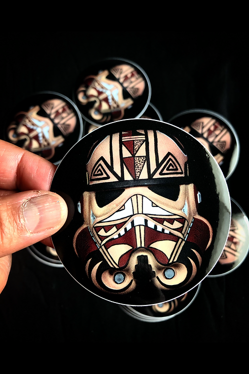 Hopi Trooper Sticker