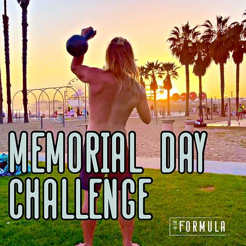 Memorial Day 6-Week Challenge
