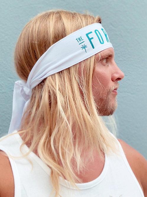 White Vamos Formula Headband