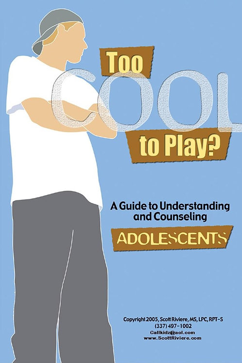 Too Cool To Play? Creative Interventions for Adolescents