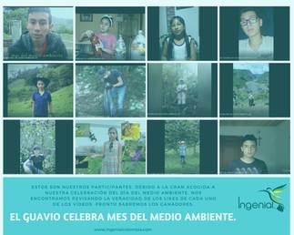 CELEBRACIÓN DEL MES DEL MEDIO AMBIENTE DE LA FUNDACIÓN INGENIAL COLOMBIA