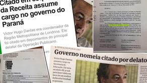 Nomeação de envolvido na Publicano é suspeita e imoral, diz Requião Filho.