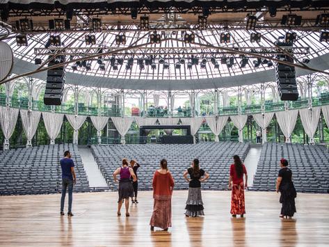 Ópera de Arame: Vale da Música oferece aulão de dança flamenca