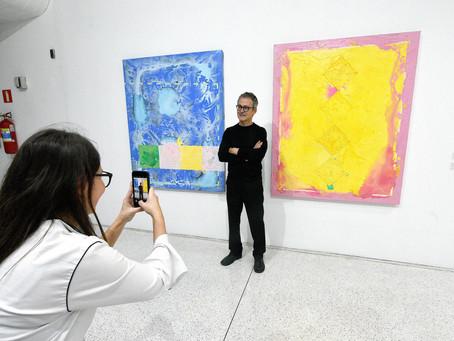 Visita a exposição de Geraldo Leão, no MON, terá bate-papo com artista nesta quinta (29)