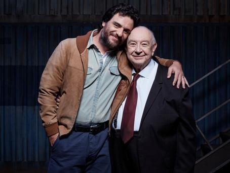 Rodrigo Lombardi e Sergio Mamberti estão no elenco de Um Panorama Visto da Ponte
