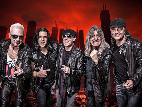 18 de setembro com Scorpions, Whitesnake e Europe, na Pedreira Paulo Leminski