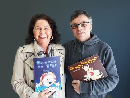 Lançamento de livros infantis no Cine Passeio, neste sábado (05)