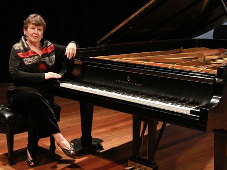 Pianista Olga Kiun apresenta recital na próxima terça-feira
