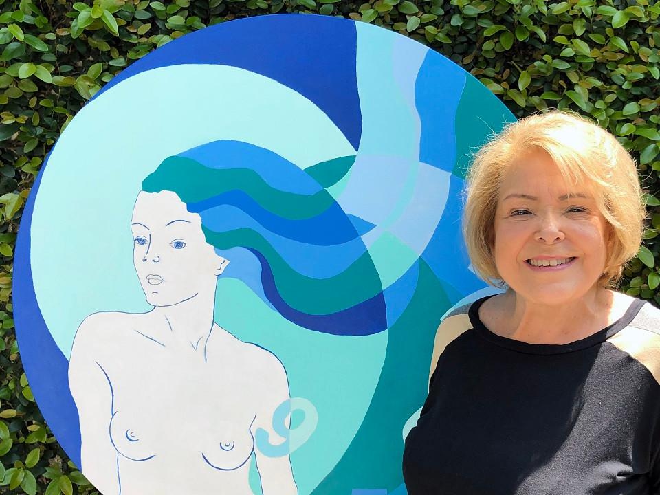 Suzana Lobo inaugura exposição inspirada no tempo