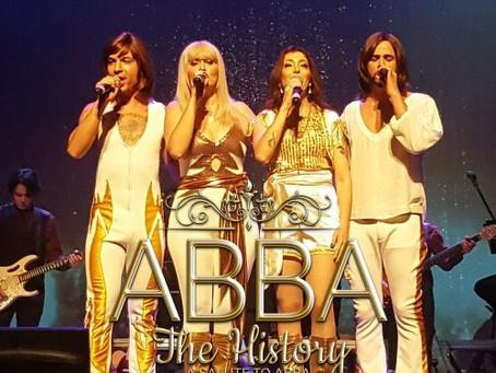 ABBA The History - A Salute To Abba, dia 16 de junho em Curitiba