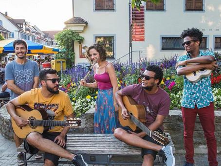 Grupo Choro pra Cinco, de Brasília, faz duas apresentações na Oficina de Música de Curitiba