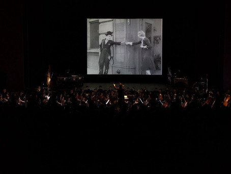 Orquestra Sinfônica do Paraná apresenta o filme Tempos Modernos, para comemorar 130 anos de Charles