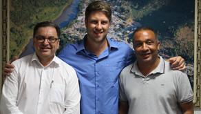 Requião Filho visita prefeitos de Adrianópolis e Tunas do Paraná
