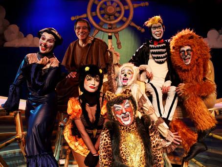 Arca de Noé alegra semana de Natal no palco do Auditório Poty Lazzarotto