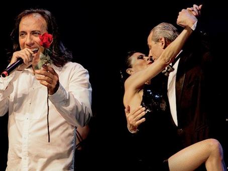 Argentino Juan Duran apresenta Romance dos Tangos aos Boleros, no palco do Teatro Positivo