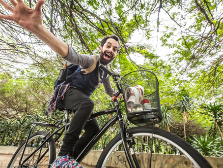 Dias 24 e 25 de novembro têm nova performance de contação de histórias em passeio de bicicletas