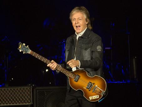 The Freshen Up Tour está no Brasil. Paul McCartney se apresenta sábado, em Curitiba