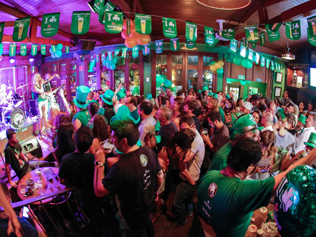 Festas temáticas em homenagem a padroeiro da Irlanda marca semana em bares de Curitiba