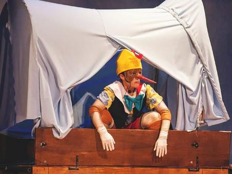 """Cia. Abração de Teatro apresenta o clássico """"Pinóquio"""""""