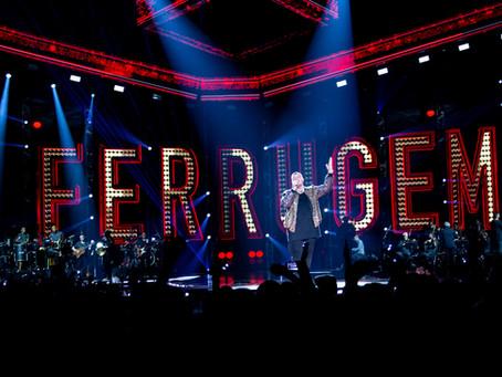 Ferrugem e Marcos e Belutti nesta sexta, no palco da Live Curitiba
