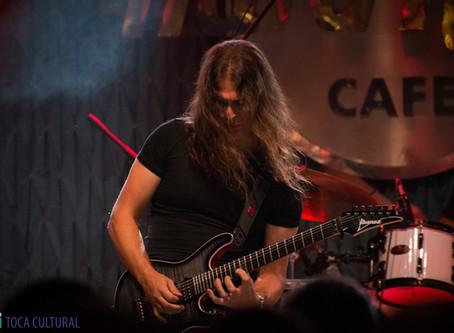 Banda curitibana Ankhy abre show de Kiko Loureiro, atual guitarrista do Megadeth