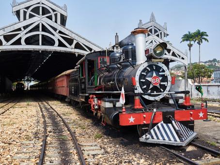 Maria Fumaça é opção de turismo nas férias de julho, em Minas Gerais