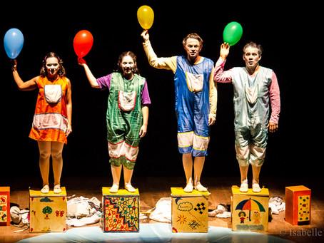 Cia. do Abração apresenta Mostra Teatral em Matinhos